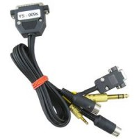 Prewired Cable for your radio (if ordered separately)
